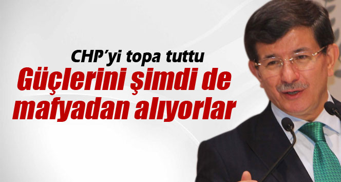 Başbakan Ahmet Davutoğlu CHP'yi Topa Tuttu !!