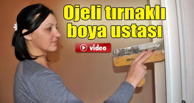 Rus Güzeli Taytana .. Ojeli Tırnaklı boya ustası ve ...