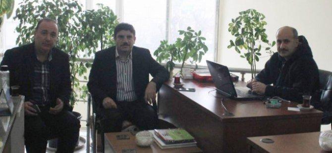 Aktay Siirt'teki Basın Kuruluşlarını Ziyaret Etti-Siirt Haberleri
