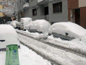 Konya'da üniversitelere kar tatili geldi