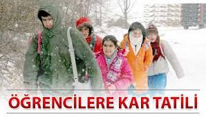 Karabük'te Okullar Çarşamba günü yarın tatil edildi mi ?