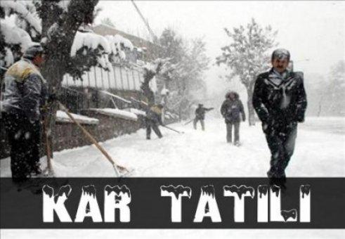 Samsun'da 7 Ocak Çarşamba Günü (Yarın) Okullar Tatil mi ?