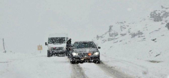 Siirt-Şırnak Karayolu Ulaşıma Kapandı-Siirt Haberleri