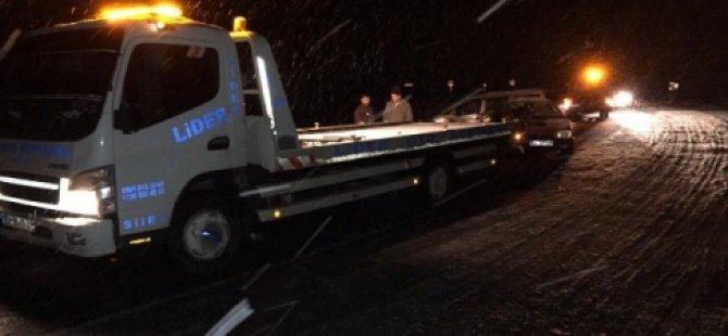 Siirt'te Trafik Kazası 1 Ölü 5 Yaralı-Siirt Haberleri