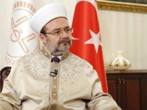 Mehmet Görmez : '12 milyon müslüman katledildi kimsenin sesi ..!