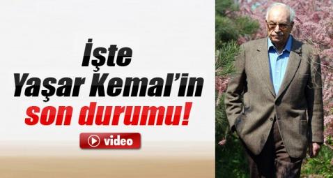 Usta yazar Yaşar Kemal'in son sağlık durumu nasıl?
