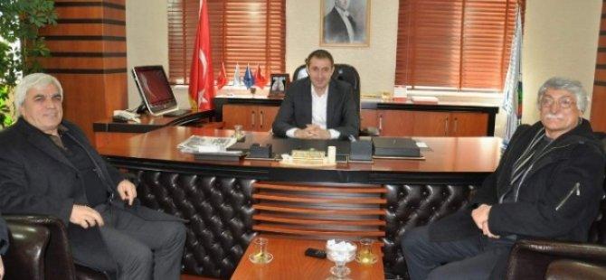 Türkiye Barış Meclisi'nden Belediyeye Ziyaret-Siirt Haberleri