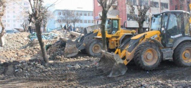 Zabıtadan Çevre Temizliği-Siirt Haberleri