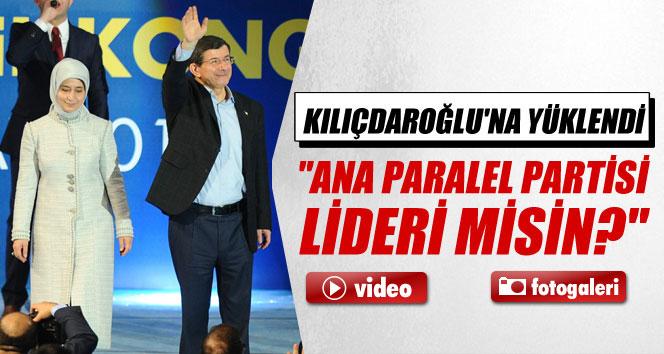 Davutoğlu'ndan İstanbul kongresinde flaş beyanatlar!