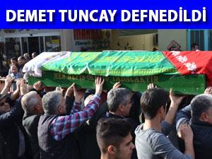 Demet Tuncay cenaze töreniyle defnedildi - Aydın Son Dakika haberleri