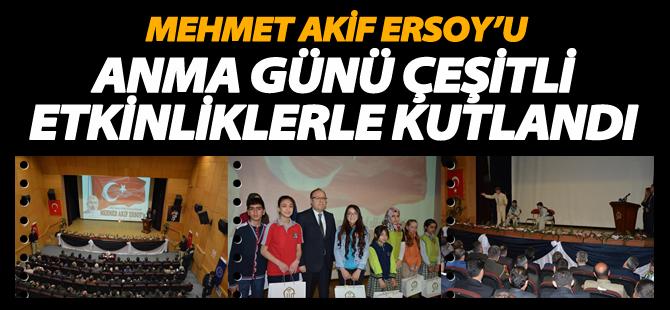 İstiklal Marşı'nın Kabulü Ve Mehmet Akif Ersoy'u Anma Günü Çeşitli Etkinliklerle Kutlandı