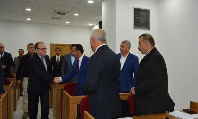 Vali Tutulmaz'dan İl Genel Meclisi'ne ziyaret