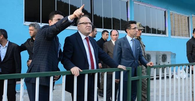Vali Mustafa Tutulmaz, Baykan ilçesinde incelemelerde bulundu