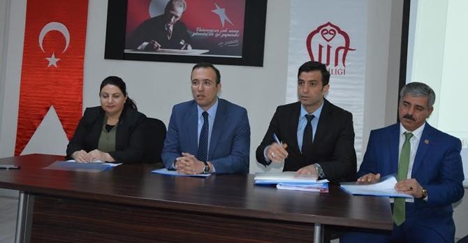 Siirt Valiliği 'Merkez Köylere Hizmet Götürme Birliği' Encümen Seçimi Yapıldı