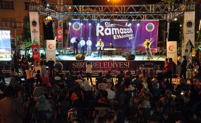 Siirt Belediyesi Ramazan Ayı Etkinlikleri Dolu Dolu Geçiyor