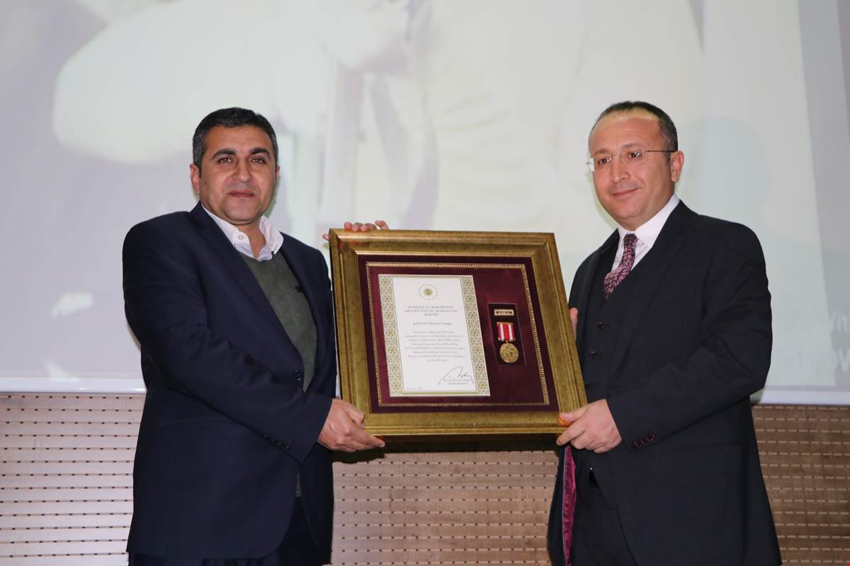 Siirt'te, Devlet Övünç Madalyası ve Berat Tevcih Töreni Gerçekleştirildi