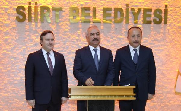 Ersoy'dan Siirt Belediyesine Ziyaret