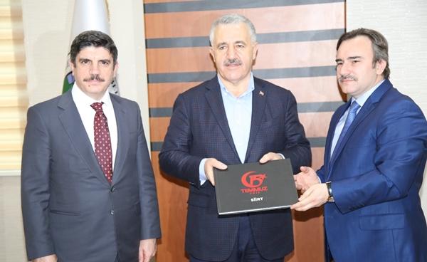 Ulaştırma Bakanı Ahmet Arslan Siirt Belediyesine ziyaret