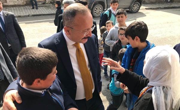 Vali Ali Fuat Atik, Halk Ziyaretlerine Devam Ediyor