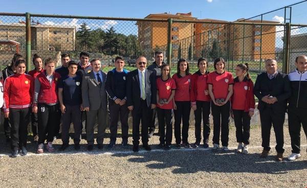 Vali Ali Fuat Atik, Spor Lisesi Öğrencileriyle Buluştu