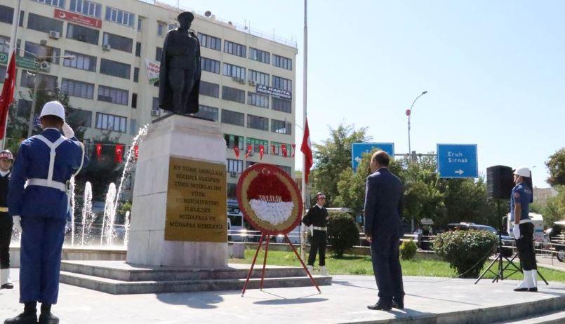 Siirt'te Gaziler Günü törenle kutlandı