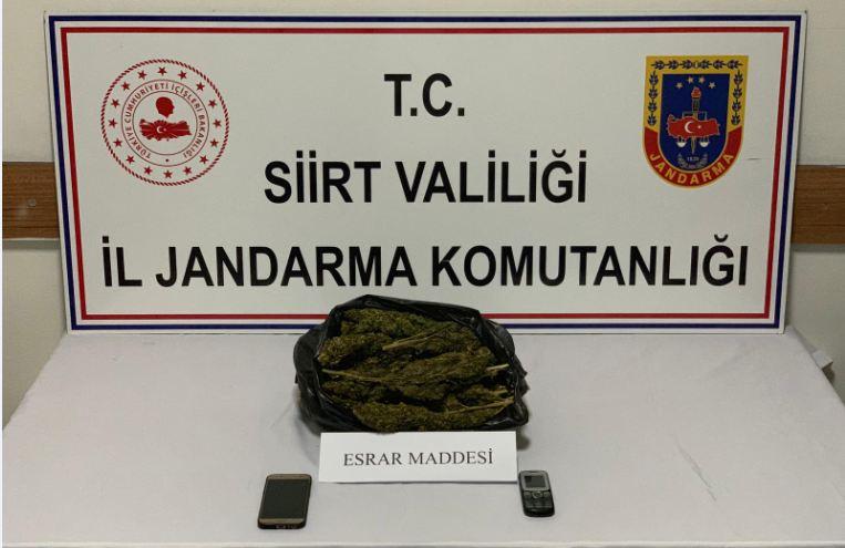 Siirt'te önemli uyuşturucu operasyonu Okul öncesi...