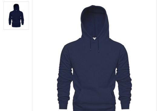 Siyah Kapşonlu ve Fermuarlı Sweatshirt Erkek Modelleri