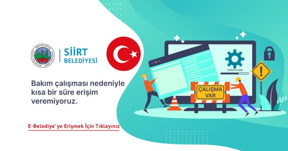 Siirt Belediyesi'nin Web Sitesi kayyum sonrası bakıma alındı
