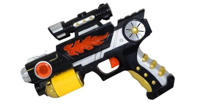 Erkek Çocuklarına Özel Tasarlanan Oyuncak Silahlar