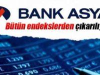 Bank Asya bütün endekslerden çıkarılıyor
