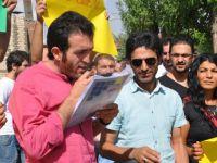 Kürtçe öğretmen ataması eylemi