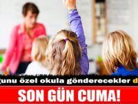 Özel okullara teşvik başvurusu uzatıldı