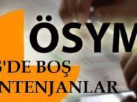 ÖSYS 2014 Ek Yerleştirme Boş Kontenjanları Öğren(LYS&YGS Ek Yerleştirmeler ne zaman başlıyor?)