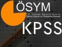 KPSS sınavına girecek olanlar dikkat