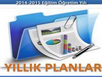 2014-2015 MEB İlköğretim-Ortaokul yıllık planları indir