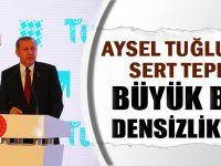 Erdoğan'dan Aysel Tuğluk'a sert tepki