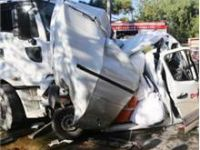 Kocaeli'nde akıl almaz korkunç kaza