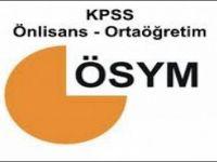 Düşük KPSS puanıyla memur alacak bölümler 2014 KPSS atama kontenjanları