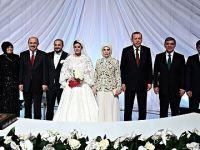 Devlet'in zirvesi Ali Ekrem Çelik'in düğün töreninde bir araya geldi