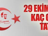 28-29 Ekim 2014 Tatil Mi? 29 Ekim Cumhuriyet Bayramı Tatili Kaç Gün? MEB Tatil