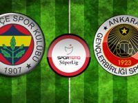 Fenerbahçe - Gençlerbirliği maçın özeti ve golleri İZLE(Maç skoru kaç kaç?)