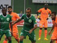 Giresunspor 1-2 Albimo Alanyaspor maçının özeti!