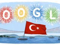Google 29 Ekim Cumhuriyet Bayramını doodle ile kutladı!