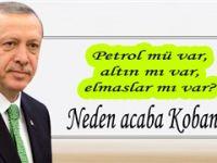 Erdoğan'dan açıklama:Kobani...