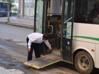 Siirt'teki halk otobüslerine engelli ayarı