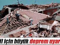 3 İlde  Deprem Uyarısı