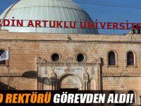 YÖK Artuklu'da rektörü görevden aldı