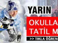 Zonguldak'ta yarın okullar tatil mi?7 Ocak