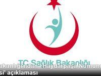 Sağlık Bakanı'ndan 'Haydarpaşa Hastanesi' Açıklaması
