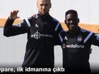 Ganalı Fotbolcu Daniel Opare İlk İdmanına Çıktı